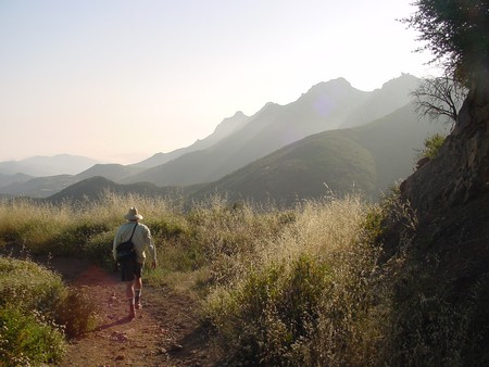Hiking Backbone Trail   © Courtesy of National Park Service/Flickr