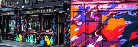 Street Art At The Bernard Shaw, Portobello   © William Murphy/Flickr