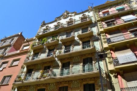 Buildings in Poble Sec, Barcelona | © Oh-Barcelona.com/Flickr