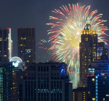 New Year fireworks, Bangkok | © Mike Behnken/Flickr