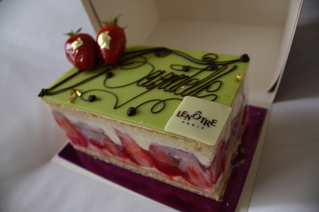 Cake from Lenôtre