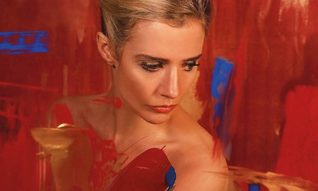 Lisa Dwan in Tolstoy's Anna Karenina by Marina Carr at the Abbey Theatre | Courtesy of The Abbey Theatre