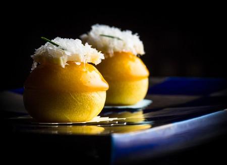Steamed bun corn and parmesan | © Eric Wolfinger/Courtesy of Manresa