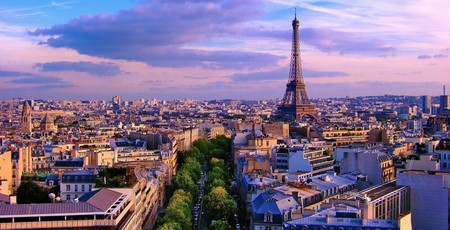 A view over the rooftops of Paris