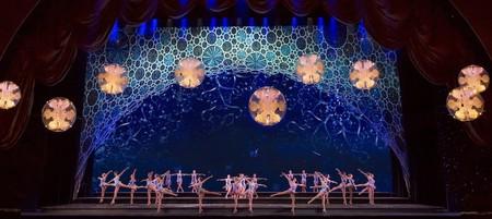 November 5, 2013: Radio City Christmas Spectacular tech rehearsal at Radio City Music Hall.