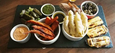 Vegan Platter | Courtesy Of Leith Depot