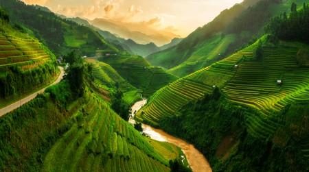Mu Cang Chai, landscape terraced rice field near Sapa, north Vietnam | © Blue Planet Studio / Shutterstock