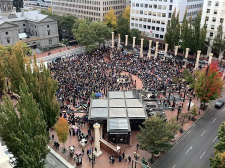 Occupy Portland and Pink Martini | © Ray Terrill / Flickr