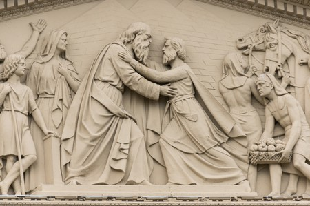Carving on Buenos Aires' Metropolitan Cathedral | © Niels Mickers/Flickr