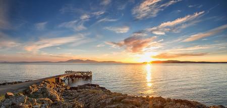 Pier Looking To Isle Of Arran | © john mcsporran/Flickr