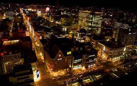 Sapporo at Night  | © Chi King / Flickr