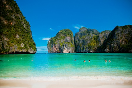 Maya Bay, aka 'The Beach' | © Kevin Tao/Flickr