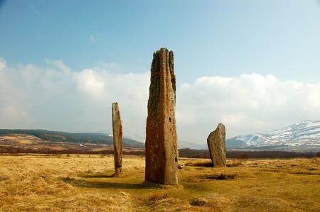 Standing Stones On Isle Of Arran   © John Mason/Flickr