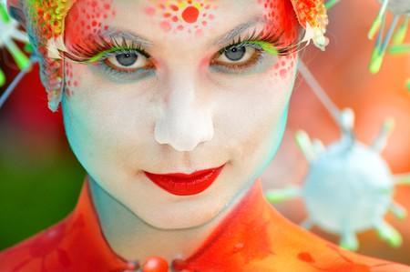 Models transform into art at the Daegu International Bodypainting Festival | © stopete60 / Flickr