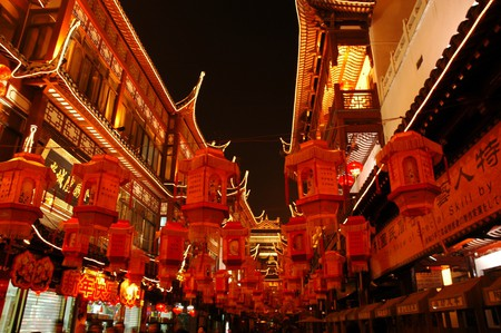 Shanghai at night | © Prashant Ram/Flickr