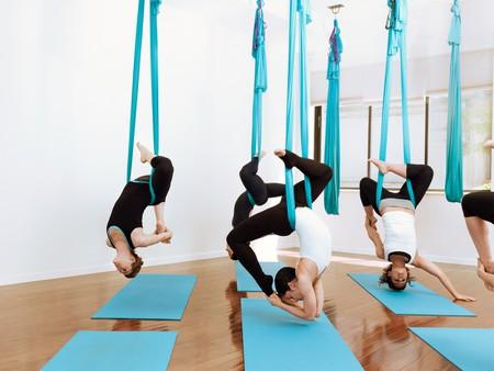 Courtesy of Unnata® Aerial Yoga