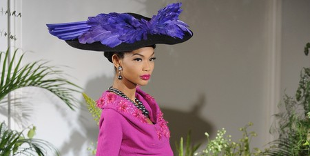 Chanel Iman wearing Dior by John Galliano in Paris A/W 2009 show │© Pascal Le Segretain / WikiCommons