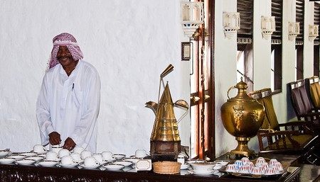 Coffee time at the Arabic Coffee Terrace, Serena Beach Hotel in Mombasa | © John Hickey-Fry / Flickr