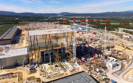 Construction at the ITER site │ © ITER Organization, EJF Riche