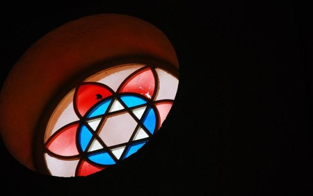 Stained Glass Window | © Nidhe Israel Synagogue and Museum