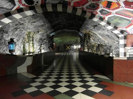 Stockholm subway art gallery |©Ingolf/Flickr
