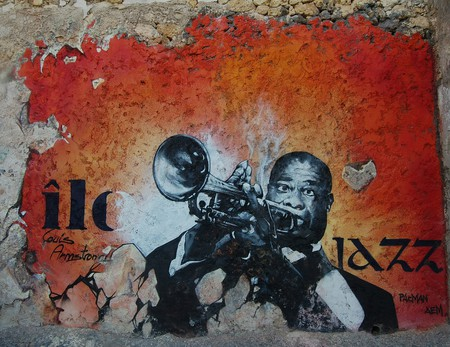 Louis Armstrong played at the very first international jazz festival in Nice | © jokoPix/Pixabay