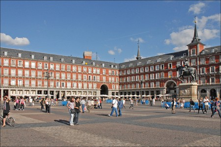The Plaza Mayor in Madrid | © Jean Pierre Dalbera/Flickr