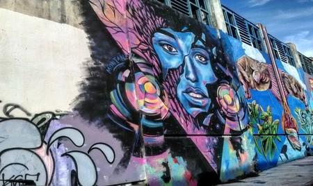 Mural in El Bajo | © Lala Antunez/garysalvaje.wordpress.com