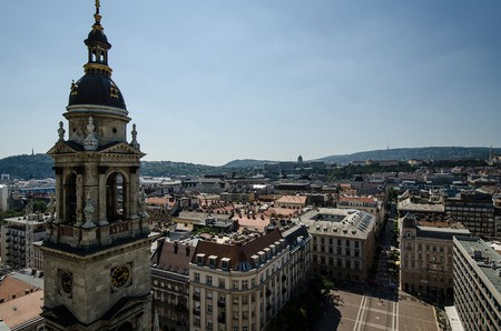 View from top of St Stephen Basillica   © Chad Goddard/Flickr