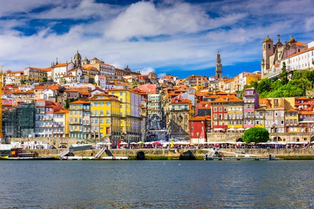 Porto, Portugal old town skyline from across the Douro River  © ESB Professional/Shutterstock