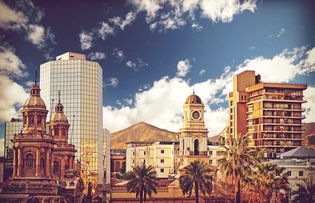 Vintage style picture of Santiago de Chile downtown, Chile | © Maciej Bledowski/Shutterstock