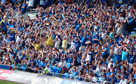 Celebrations in the Canton Stand|©Jon Candy/Flickr