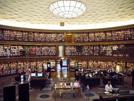 Stockholm City Library | © Samantha Marx / Flickr
