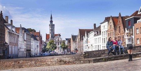 A view of the Burgher's Lodge on Bruges' Jan Van Eyck Square | © Jan D'Hondt / courtesy of Toerisme Brugge