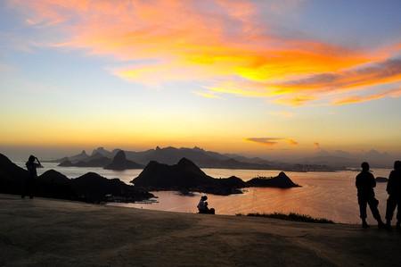 Sunset from Parque da Cidade Niteroi | © Mcalvet/WikiCommons
