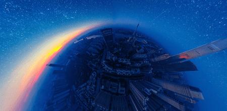Professional - 360 - 1st - 'The Starry Night' |©Jingwen Chen / SkyPixel