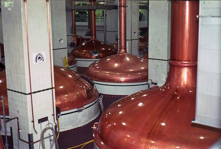 Beer brewing kettles | ©Dual Freq / Wikimedia Commons