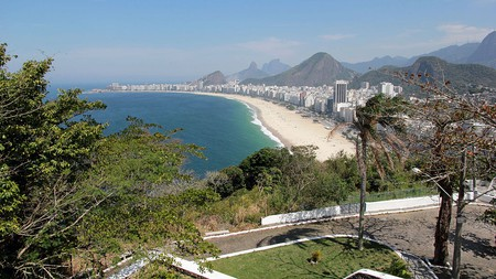 The view from Leme Fort |© Halley Pacheco de Oliveira/WikiCommons