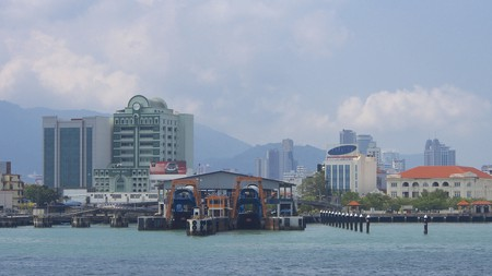 """<a href=""""https://www.flickr.com/photos/26781577@N07/12353551884/"""" target=""""_blank"""" rel=""""noopener noreferrer"""">Ferry from Butterworth to Georgetown Penang 