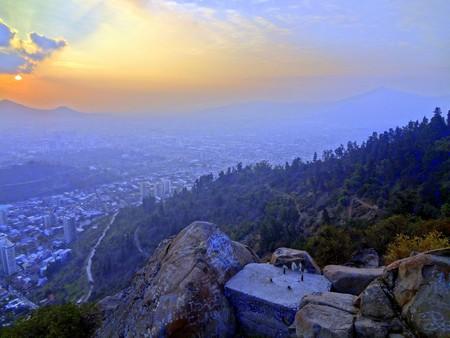 Morro Santa Lucia - Santiago , Chile © Cesar I. Martins