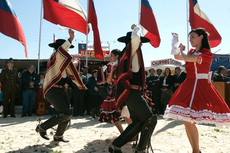 National Dance Cueca © Turismo Chile