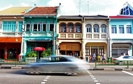 Peranakan Shophouses in Joo Chiat   © JUJUlianar/Flickr