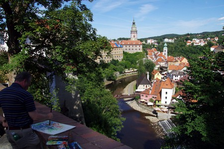 Cesky Krumlov's beauty is obvious from all angles |  ©Donald Judge / Flickr