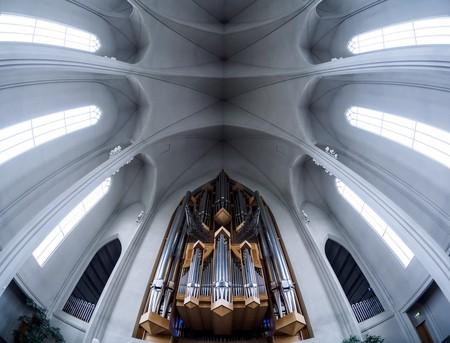 Organ inside Hallgrimskirkja |© skrytebane / Flickr