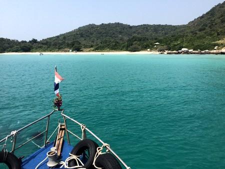 Boating off Pattaya  | © Courtesy of Kelly Iverson