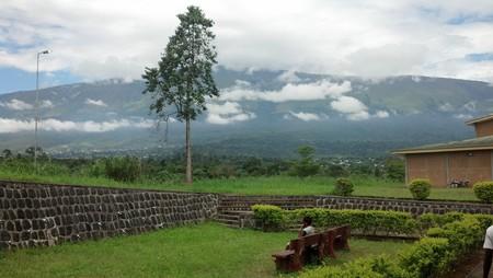 Mount Cameroon from Buea, Camerron.   Courtesy AfricaTravelAssociation, Flickr.