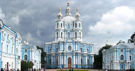 Smolny Cathedral, Saint Petersburg   © Wikimedia Commons