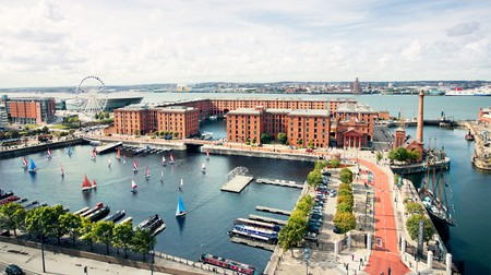 Bird's eye view of Albert Dock | © albertdock.com