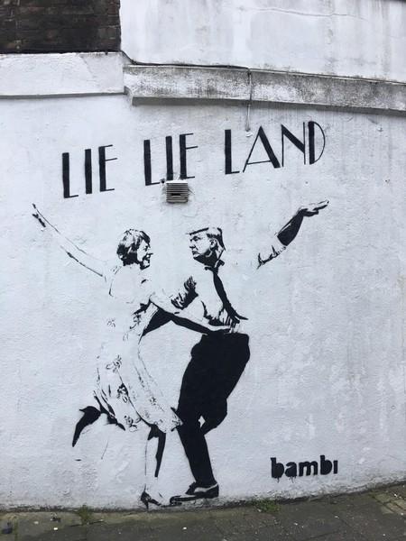 Bambi, Lie Lie Land, London 2017. © the artist