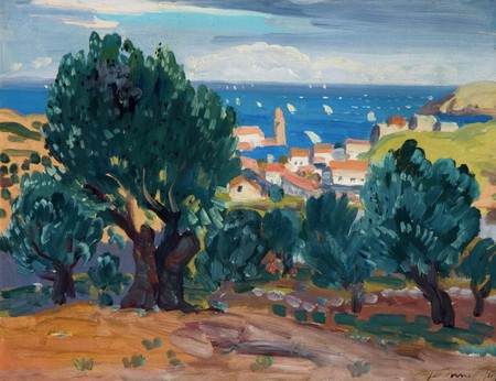Olives at Collioure (1911), James Dixon Innes 1887-1914   © National Museums Northern Ireland Collection Ulster Museum